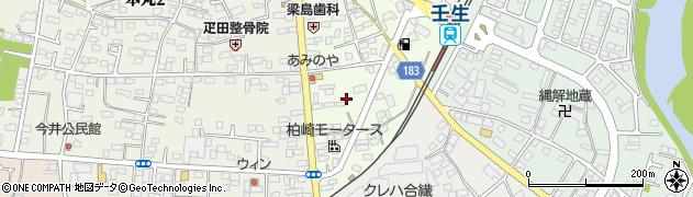栃木県下都賀郡壬生町中央町17周辺の地図