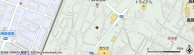 茨城県ひたちなか市高場周辺の地図