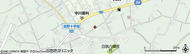 茨城県ひたちなか市高野周辺の地図