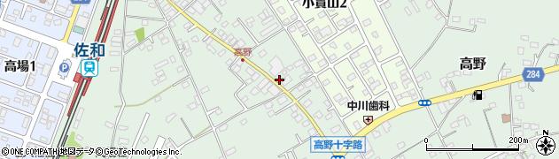 砂押アグリン株式会社周辺の地図
