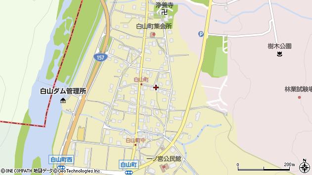 〒920-2115 石川県白山市白山町の地図