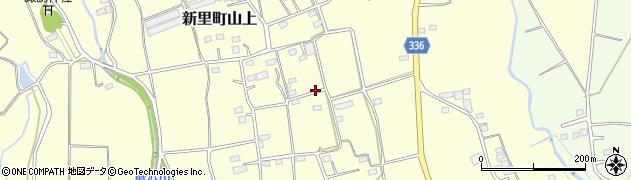 群馬県桐生市新里町山上周辺の地図