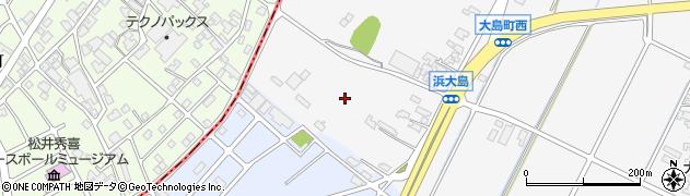 石川県小松市大島町(子)周辺の地図