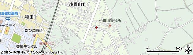 茨城県ひたちなか市小貫山周辺の地図