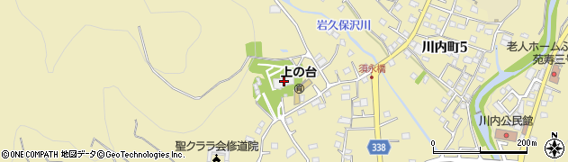 雲祥寺周辺の地図