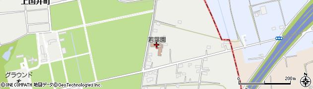 若葉園周辺の地図