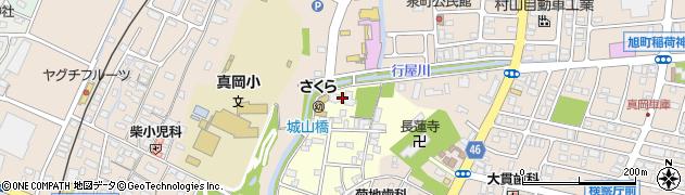 般若寺周辺の地図