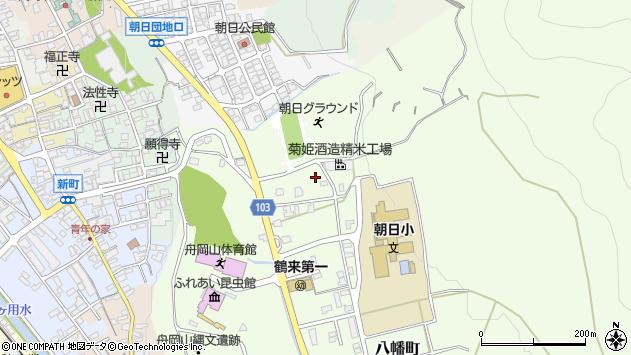〒920-2112 石川県白山市鶴来日吉町の地図