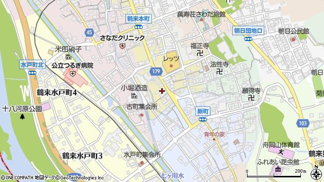 〒920-2121 石川県白山市鶴来本町1丁目の地図