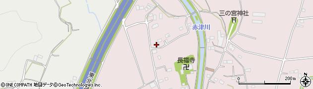 栃木県栃木市都賀町富張周辺の地図
