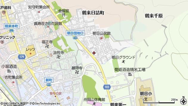 〒920-2111 石川県白山市鶴来朝日町の地図