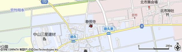 静照寺周辺の地図