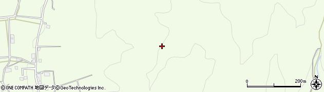 長野県大町市社周辺の地図