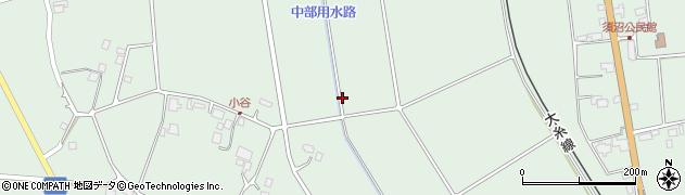 長野県大町市常盤(西山)周辺の地図