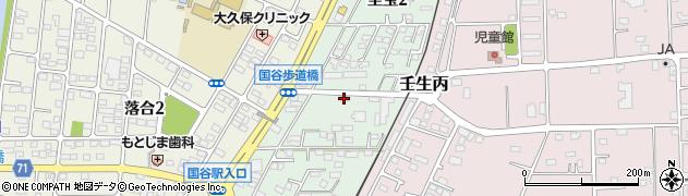 栃木県下都賀郡壬生町至宝周辺の地図