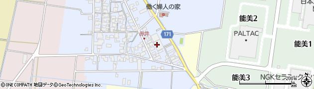 石川県能美市赤井町(ヘ)周辺の地図