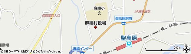 長野県麻績村(東筑摩郡)周辺の地図