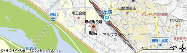 長野県坂城町(埴科郡)周辺の地図