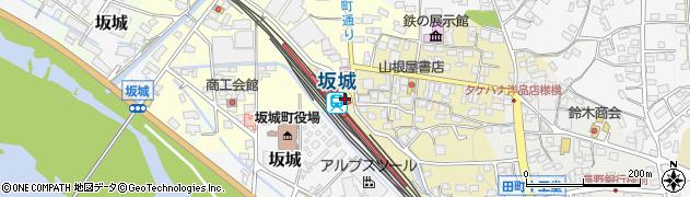 長野県埴科郡坂城町周辺の地図