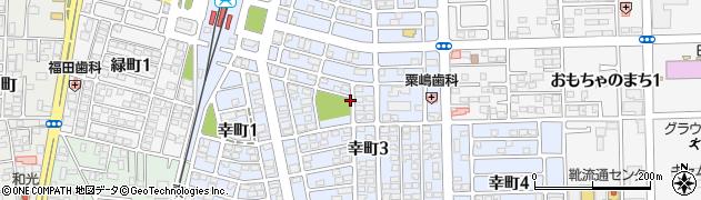 栃木県下都賀郡壬生町幸町周辺の地図