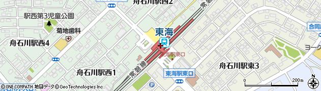 茨城県那珂郡東海村周辺の地図