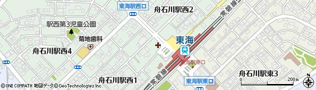 中央進学会東海校周辺の地図