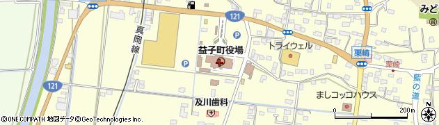 栃木県益子町(芳賀郡)周辺の地図