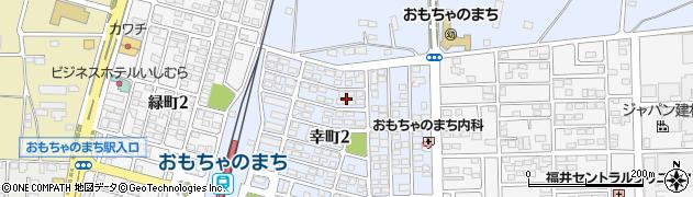 栃木県下都賀郡壬生町幸町2丁目周辺の地図