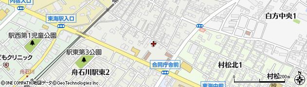 真崎浦土地改良区周辺の地図