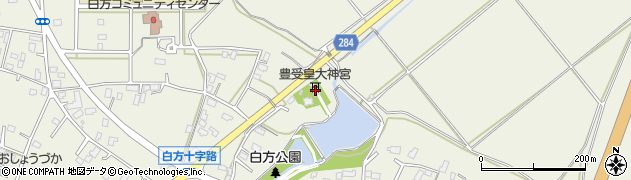 豊受皇大神宮周辺の地図