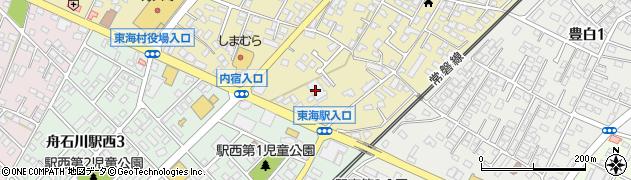 日立塗装株式会社周辺の地図