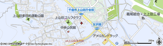 長野県千曲市上山田(下久保)周辺の地図