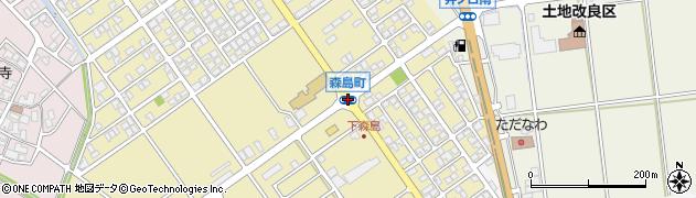 森島町周辺の地図