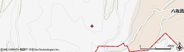 長野県大町市八坂(塩の貝)周辺の地図