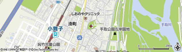 今湊神社周辺の地図