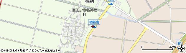 橘新南周辺の地図