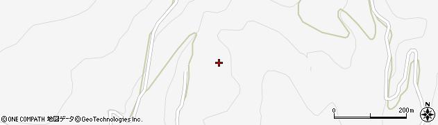 長野県大町市八坂(藤尾)周辺の地図