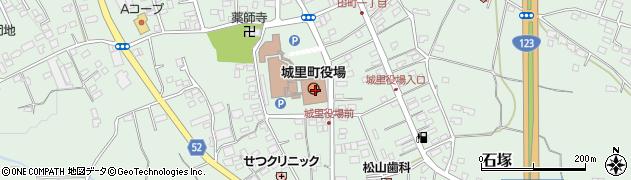 茨城県東茨城郡城里町周辺の地図