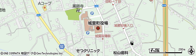 茨城県城里町(東茨城郡)周辺の地図