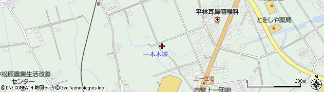 長野県大町市常盤(上一)周辺の地図