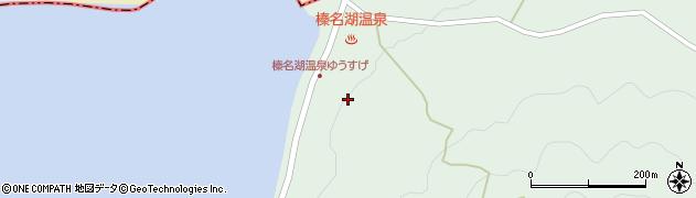 榛名湖温泉周辺の地図