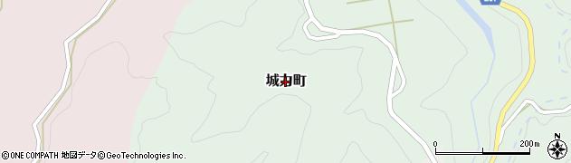石川県金沢市城力町周辺の地図