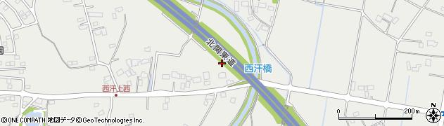 北関東自動車道周辺の地図