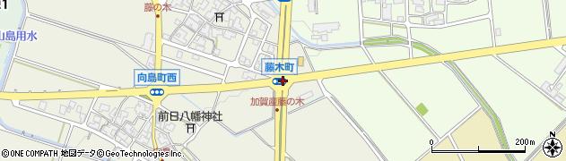 藤木町周辺の地図