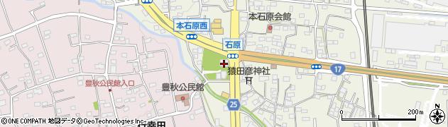 石原寺周辺の地図