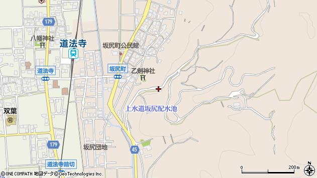 〒920-2102 石川県白山市坂尻町の地図