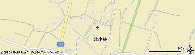栃木県下都賀郡壬生町北小林周辺の地図