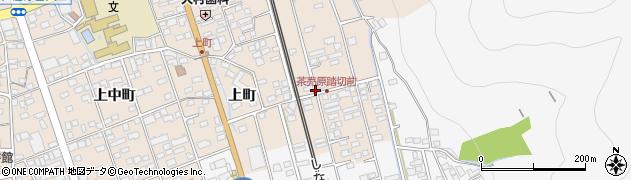 長野県千曲市戸倉(上町)周辺の地図