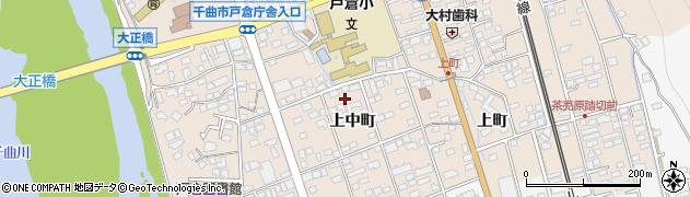 長野県千曲市戸倉(上中町)周辺の地図