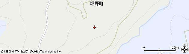 石川県金沢市坪野町周辺の地図